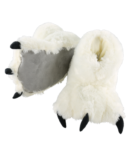 White Bear Paw Slippers - Kids & Adults - Lazy One®